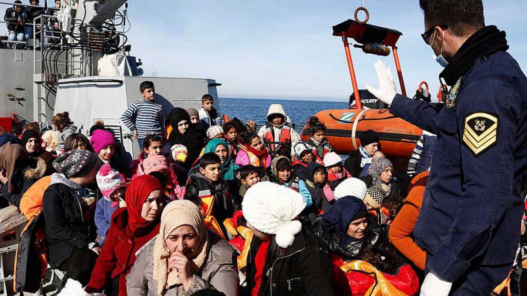 refugiados y frontera